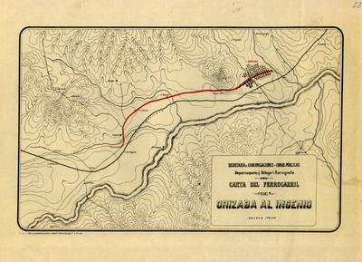 Carta del Ferrocarril de Orizaba al Ingenio