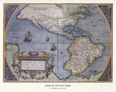 Americae sive Novi Orbis, Nova Descriptio