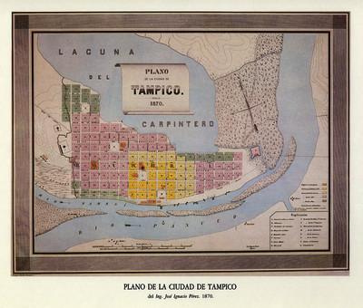 Plano de la Ciudad de Tampico