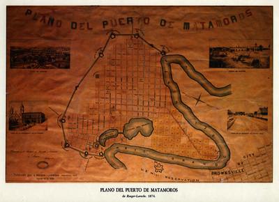 Plano del puerto de Matamoros