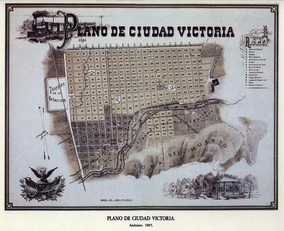 Plano de Ciudad Victoria