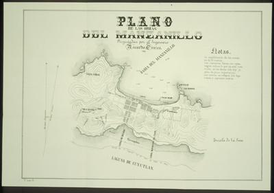 Plano de las Obras del Manzanillo