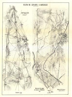 Plano de Linares a González