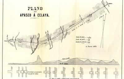 Plano de Apaseo á Celaya