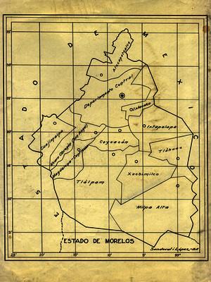 Mapa del Distrito Federal