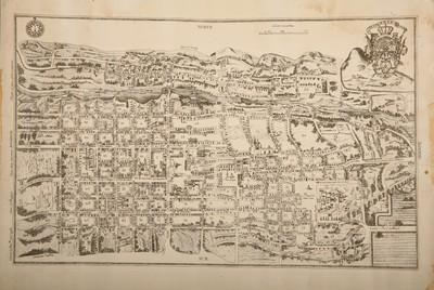 Plano de la ciudad de Querétaro