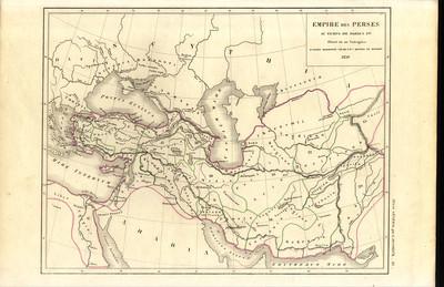 Empire des Perses au temps de Darius 1er