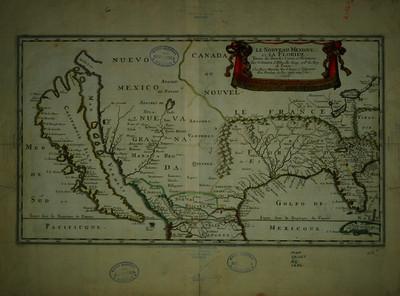 Le Nouveau Mexique et la Floride tirées de diverses cartes et relations