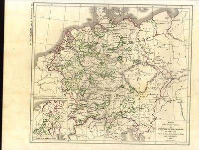 Carte pour servir à l'histoire de l'Empire d'Allemagne de 1138 à 1273