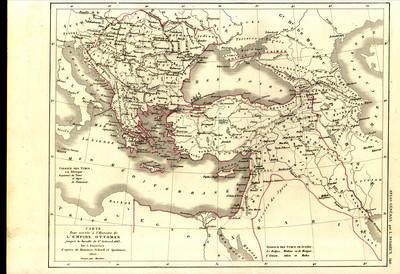 Carte pour servir à l'histoire de l'Empire Ottoman