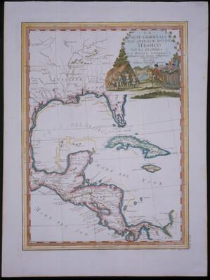 parte orientale dell Antico, e Nuovo Messico con la Florida e la basa Luigiana
