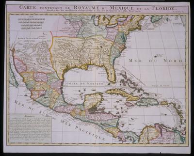 Carte contenant le Royaume du Mexique et la Floride