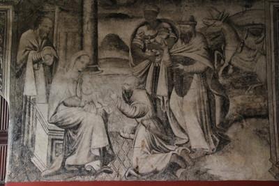 La adoración del niño Jesús
