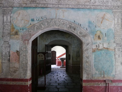 Frailes agustinos en Culhuacán