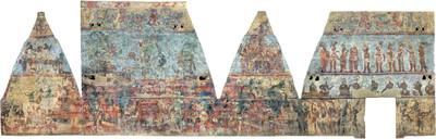 Cuarto 3, Templo de las pinturas, Bonampak