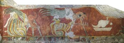 Pintura de la Tumba 1, Ixcaquixtla