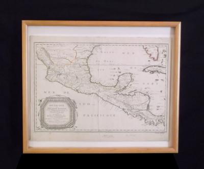 Mexique a Nouvelle Espagne, Nouvelle Gallice, Iucatan et autres provinces jusques a l'Isthe de Panama ; ou sont les Audiences de Mexico, de Guadalajara, et de Guatemala