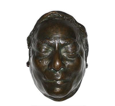 Máscara mortuoria del Lic. Benito Pablo Juárez García.