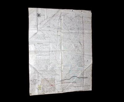 Plano del Pueblo de Santa María Coyotepec