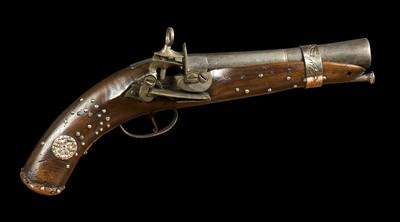 Pistola de chispa de Agustín de Iturbide