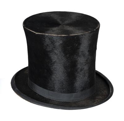 Sombrero de copa de Benito Juárez