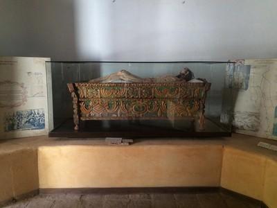 Cristo yacente o Cristo en el santo sepulcro