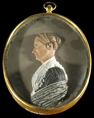 Medallón Josefa Ortiz de Domínguez