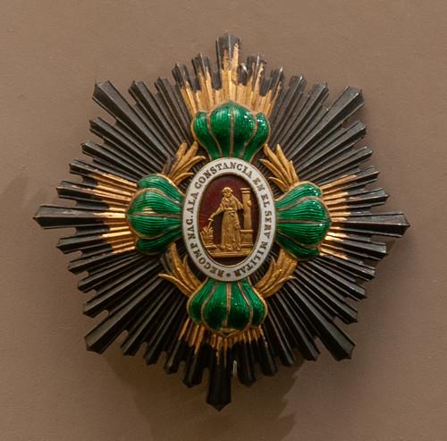 Medalla condecorativa de pecho