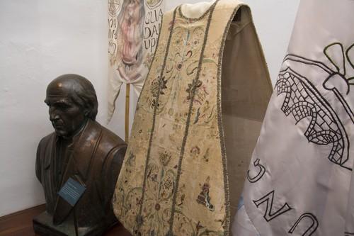 Casulla usada por el cura José María Morelos