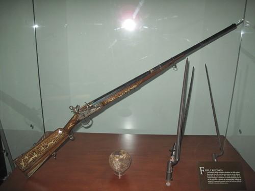 Fusil y bayoneta