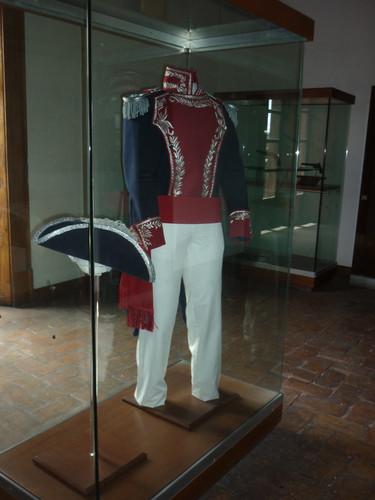 Uniforme del Capitán Ignacio Allende.