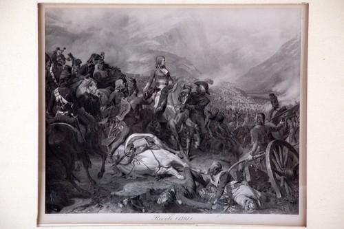 Tres escenas de las campañas militares de Napoleón Bonaparte