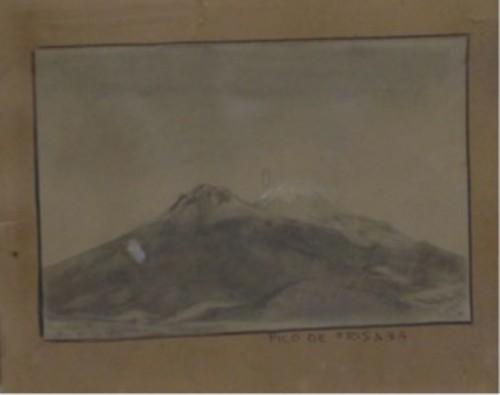 Vista del Pico de Orizaba