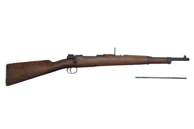 Carabina de repetición, sistema Mauser, con baqueta
