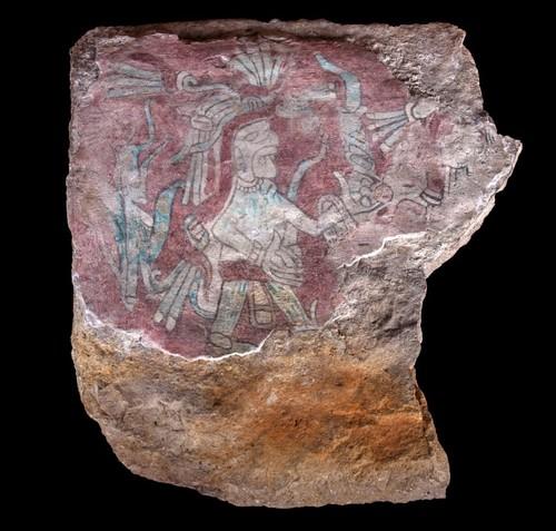 Fragmento de pintura mural