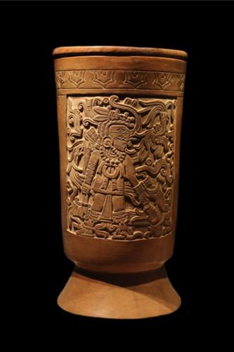 Urna funeraria y tapa