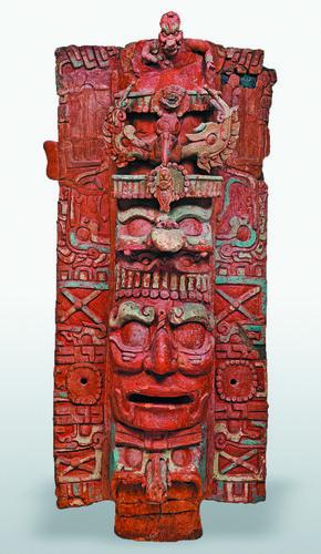 Portaincensario efigie de dios solar GIII