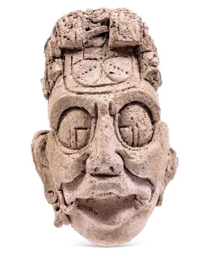 Rostro de K'inich Ahau, deidad del Sol