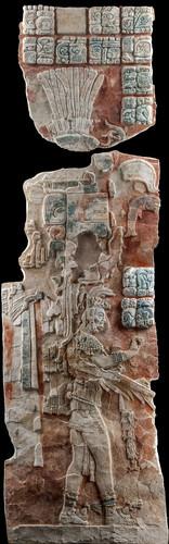 Tablero de la pilastra del Templo XIX