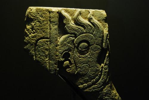 Fragmento de Tablero Quetzal-Guacamaya