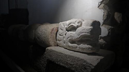 Escultura Cabeza de Serpiente