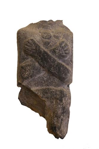 Escultura antropomorfa, fragmento