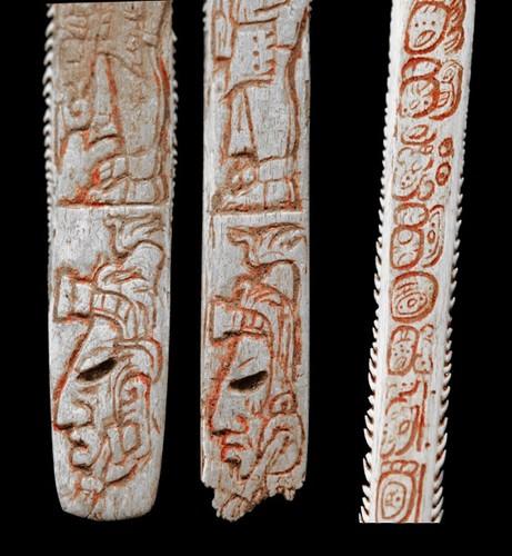 Espina con inscripción de Comalcalco