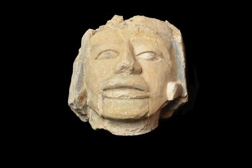 Escultura antropomorfa (cabeza)
