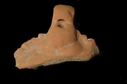 Fragmento de ocarina con embocadura