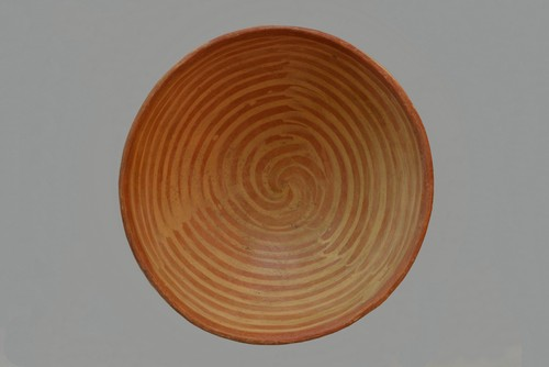 Vasija rojo pulido