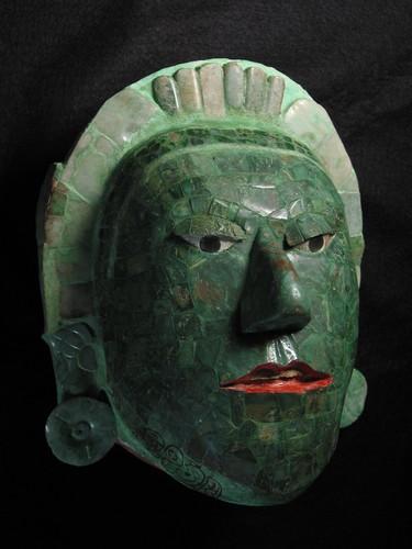 Máscara de jadeíta