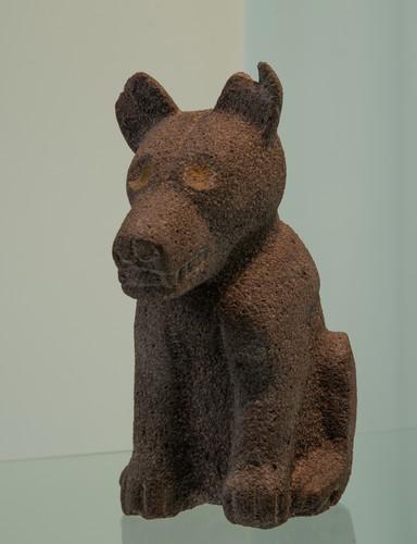 Perro en piedra