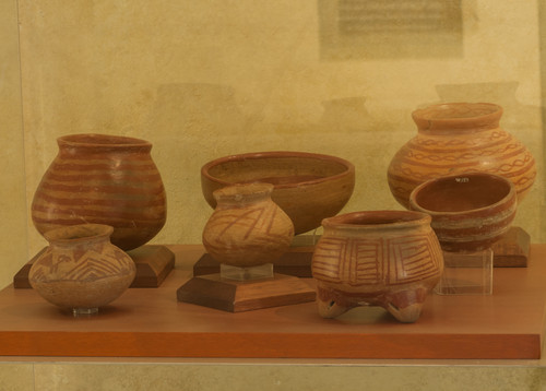 Conjunto de ollas, vasijas y cuencos