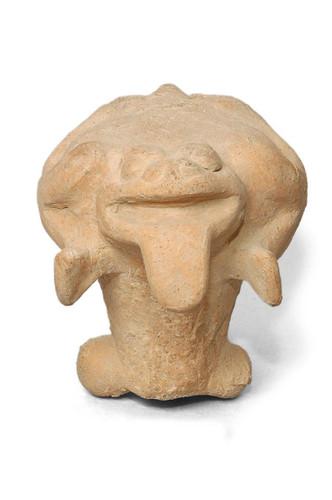 Figurilla zoomorfa (sapo)